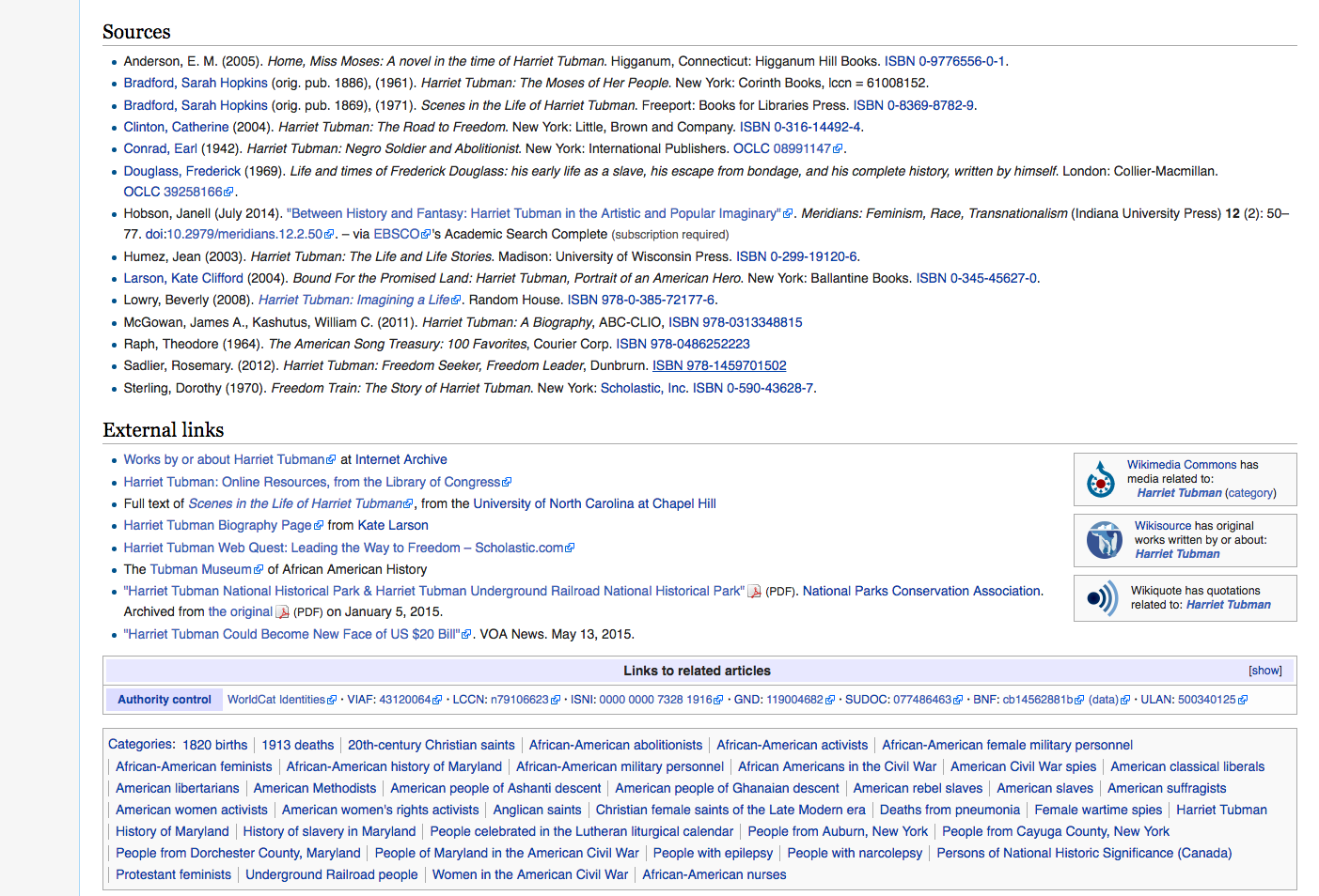 Wikipedia Footnotes, don't forget them!'s screenshot
